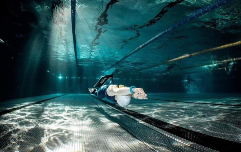Na bazénových závodech v Bělehradě jsem vytvořila národní rekord v disciplíně DYNB.